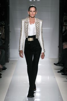 Balmain SS2012 - drafting a PR.. cant wait to pin the whole collection .. Its so up-to-the-minute!