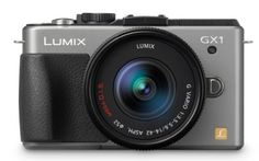 Panasonic Lumix DMC-GX1K 16 MP Micro 4/3 Compact System Camera with 3-Inch LCD Touch Screen and 14-42mm Zoom Lens (Silver) by Panasonic. $449.00. From the Manufacturer                             Panasonic Lumix DMC-GX1 16 MP Micro 4/3 Compact System Camera     Superb Image Quality and Performance Combined with a Premium Design Panasonic is pleased to announce the addition of the DMC-GX1 interchangeable lens system camera as part of the LUMIX G Micro System as part of the new pre...