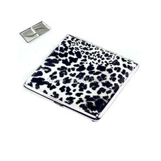 Leopard Pattern Pocket New Cigarette(20 pcs) Tobacco Case Box Holder BW Leather #S018Y# High Quality