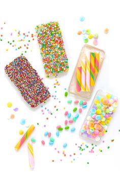 DIY Candy iPhone Cases! // Violet Tinder Studios