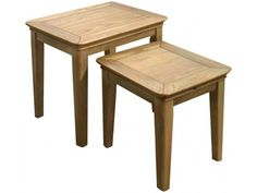 Orvieto Oak Nest of Tables £158.00