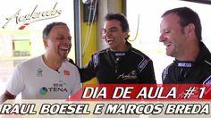 RAUL BOESEL E MARCOS BREDA NO JAGUAR F-TYPE R - DIA DE AULA #1 | ACELERADOS