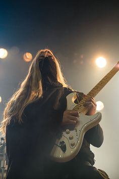 Lynd - Twilight Force ⚫ Photo from Byscenen FB page ⚫ Trondheim 2016 ⚫ #TwilightForce #music #metal #concert #gig #musician #Lynd #guitar #guitarist #mask #ninja #armour #armor #leather #blond #longhair #show #photo #fantasy #magic #cosplay #larp #man #onstage #live #celebrity #band #artist #performing #Sweden #Swedish #Falun #Byscenen