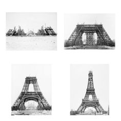 building plans of Eiffel Tower