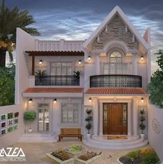 if you don't click this will be our last promo for this Luxury architecture Design photos 👇 check it out 👇 Classic House Exterior, Modern Exterior House Designs, Classic House Design, Unique House Design, Modern Design, House Outside Design, House Front Design, 2 Storey House Design, Bungalow House Design