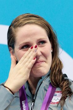 It's official: Missy Franklin is an Olympic champion! Franklin's gold in the 100m backstroke is one of 12 swimming medals Team USA has earned so far in London. Which event has been your favorite?
