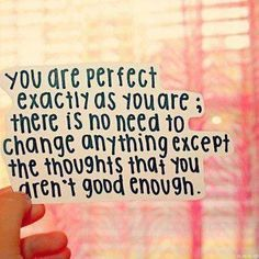 PERFECT JUST AS YOU ARE - Google Search