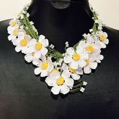 A personal favorite from my Etsy shop https://www.etsy.com/listing/526534529/157-inches-4-meters-white-daisy-turkish