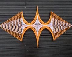 String Art Hexa-Flower di DeRevesEnReves su Etsy