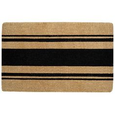 French Stripe Doormat #williamssonoma