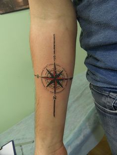 inner arm Compass rose