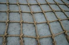 How to Make Rope Climbing Nets | eHow