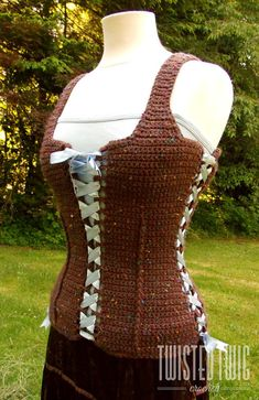 CROCHET PATTERN  Gypsy Bodice by TwistedTwigCrochet on Etsy