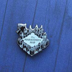 Marauders Map (Harry Potter) Pin by FandomFlairPins on Etsy