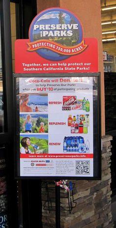 Coca-Cola Preserve Our Parks