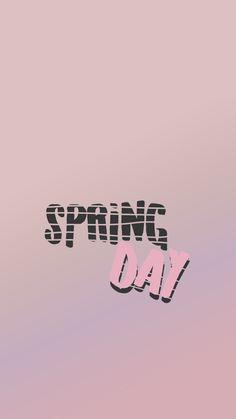 BTS Spring Day lockscreen wallpaper Bangtan kpop