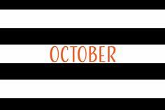 October 2017 Free Calendars and Wallpaper - Red Stamp