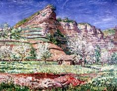 Orchard in Blossom, Bozouls - James Dickson Innes - The Athenaeum