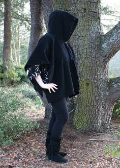 Darth Vader Ninja Hooded Poncho or Cape by DonnasDesignsSC on Etsy