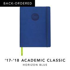BACK-ORDERED - '17-'18 Academic Classic Horizon Blue
