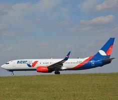 Azur Air at Kaluga Boeing Aircraft, Volvo, Airplanes, Aviation, Commercial, Nice, Logos, Happy, Aircraft