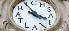 Rich's clock - downtown Atlanta - vintage