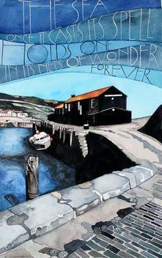 Lyme Regis pictures « Sam Cannon Art