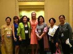Jen with the Filipino contingency at Soroptimist International in Hawaii last night. #MissRep