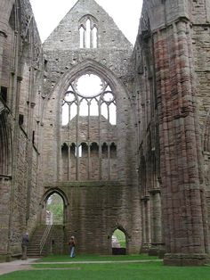 We always loved visiting the Cistercian abbey of Tintern its one of the greatest monastic ruins of Wales. It was only the second Cistercian foundation in Britain, and the first in Wales, and was founded on 9 May 1131. Its simply awe inspiring and not to be missed.