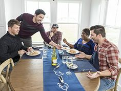 Drew Scott, J. Scott, Jonathan Silver Scott, Ben Sargent, and Tiffany Brooks in Brother vs. Jonathan Silver Scott, Scott Brothers, Drew Scott, Property Brothers, Karma, Tiffany, Beautiful Men, Towers