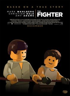 Lego Movie Poster: The Fighter