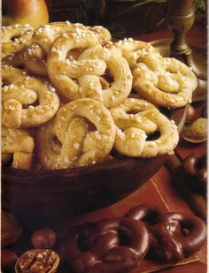 german christmas vanilla pretzels