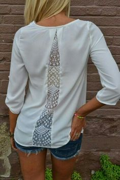 ..add room to those plain tees to disguise muffin tops!