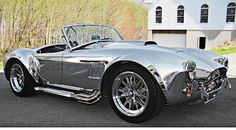 Shelby Cobra 67, Polished Aluminum