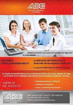 """Seminario """"La Aplicación del Fideicomiso al Desarrollo de los Negocios Productivos"""" a cargo del Ing. Francisco Pertierra Cánepa (2012)"""