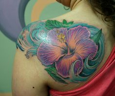 17 Best Hibiscus Tattoo Meaning Images Fleurs Dhibiscus