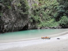 Emeral Cave, Koh Mook, Thailand. Those who cannot swim in pitch black caves should give it a miss.