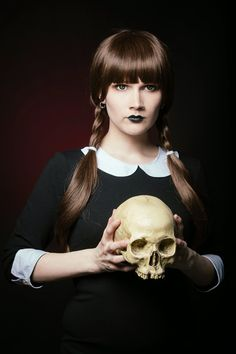 Wednesday Addams inspired ©Rudi Thomas Photography - Saija Sasetar Frillycakes