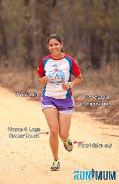 Hips Gait and my running form #running #runmum