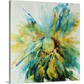 Found it at AllModern - Cornflower by Farrell Douglass Graphic Art on Gallery Wrapped Canvas