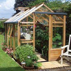 Essential 6ft x 8ft Cedar Greenhouse by Gabriel Ash