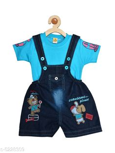 Oneseis & Rompers Prity Girls Jumpsuit   Cotton  Printed Fabric: Cotton Sleeve Length: Short Sleeves Pattern: Printed Multipack: 1 Sizes:  12-18 Months (Bust Size: 20 in Length Size: 16 in Waist Size: 18 in)  6-12 Months (Bust Size: 19 in Length Size: 15 in Waist Size: 16 in)  18-24 Months (Bust Size: 21 in Length Size: 17 in Waist Size: 20 in) Country of Origin: India Sizes Available: 3-6 Months, 6-9 Months, 6-12 Months, 9-12 Months, 12-18 Months, 18-24 Months, 1-2 Years *Proof of Safe Delivery! Click to know on Safety Standards of Delivery Partners- https://ltl.sh/y_nZrAV3  Catalog Rating: ★4.2 (4582)  Catalog Name: Tinkle Funky Kids Girls rompers CatalogID_774247 C59-SC1184 Code: 833-5228309-
