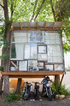 Making a Modern Treehouse