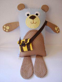Urso naninha finalizado hoje.  http://www.solidarium.net/produto/urso-naninha http://www.elo7.com.br/naninha-urso/dp/47CF1D