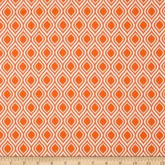 Metro Living Flame Stripe Orange from @fabricdotcom  Designed by Studio RK for Robert Kaufman, this cotton print is perfect for quilting, apparel and home decor accents.  Colors include white and orange.