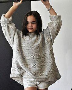 Hania by Anya Cole #knit #knits #knitting #knitted #knitwear #knitspiration #knittinginspiration #knittinglove #knitfashion #knitstagram #свитер #вязание #вязанаямода #модноевязание #вяжутнетолькобабушкиноимамочки #вяжутнетолькобабушки