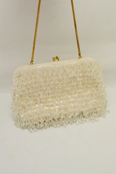 Vintage Purses, Vintage Bags, Vintage Handbags, Vintage Jewelry, Sparkly Belts, Unique Gifts For Her, Beaded Purses, Sequins, Straw Bag