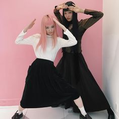 @yukimaru25 Dior Girls!! Welcome to LEAP!! ARIGATO #FernandaLy #YukaMannami #models