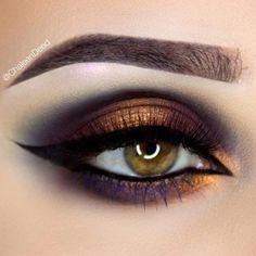 Great eye-makeup tips. Great eye-makeup tips. Dark Eye Makeup, Eye Makeup Art, Makeup For Green Eyes, Eye Makeup Tips, Mac Makeup, Skin Makeup, Eyeshadow Makeup, Makeup Ideas, Makeup Hacks