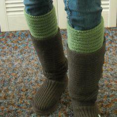 Boot Cuffs/Leg Warmers/Dance Leg Warmer/Boot by SignsFromTheHeart, $30.00